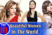 World's top 10 gorgeous women of 2016!!!
