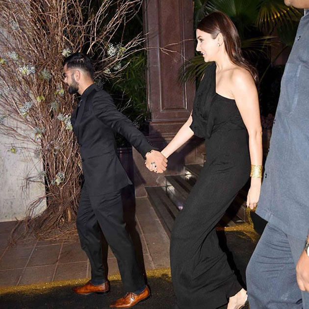 Pic Talk: Anushka-Virat Walking hand-in-hand