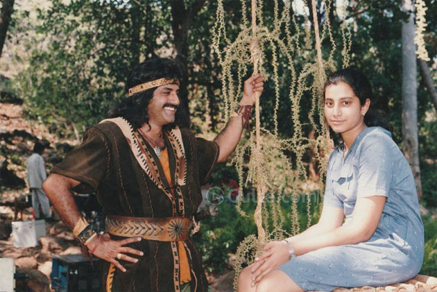 Throwback Pic: Balayya with Brahmani