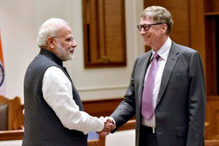 World's Richest Man Impressed With Modi's 'Clean India'