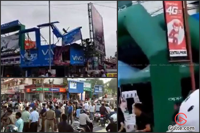 Vivo & Oppo Stores Destroyed in Support of Indian Army