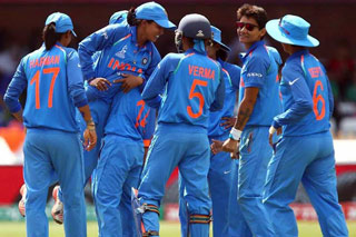 India Enters World Cup Semis