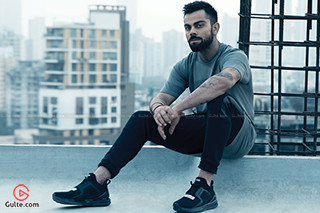 Kohli Signs Top Shoe Brand for 110 Crore