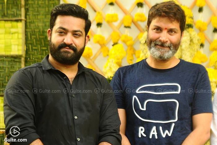 Tarak's workout for Trivikram film