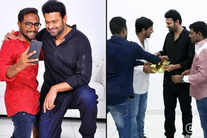 Prabhas Fans, Get Ready To Meet Your Hero