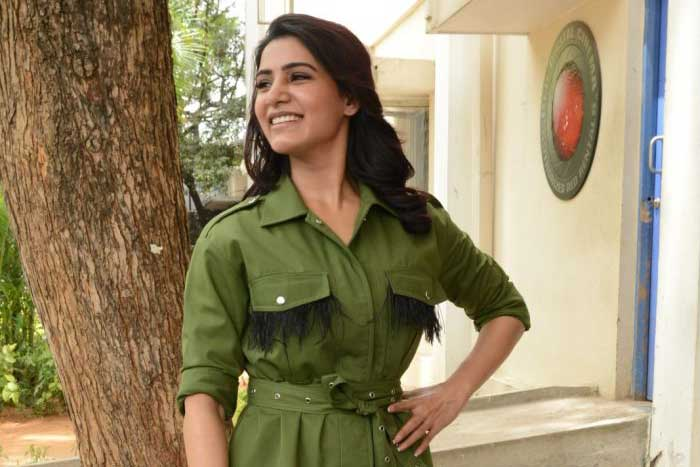 Samantha Doing Everything For This Director!