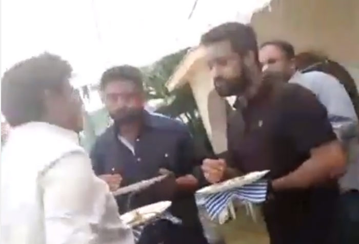 Nandamuri Meeting : Balayya, Jr NTR, Kalyan Ram