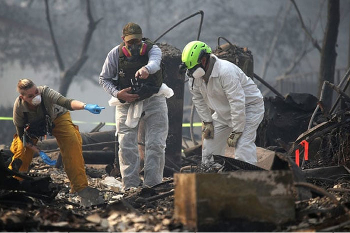 California Wildfire: Over 1,000 Missing