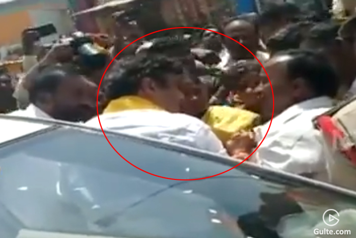 Balakrishna's Vehicle stopped by Angry Women In Hindupur