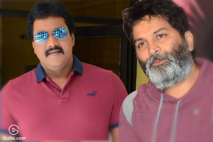 Trivikram's Special Counseling To Sunil