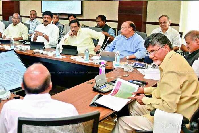 Agenda for AP Cabinet meet cleared