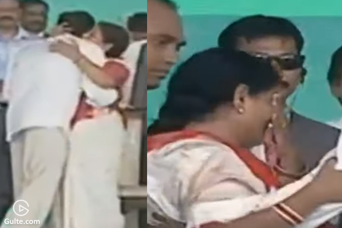 YS Vijayamma's Emotional Tears, Hugs Son Jagan