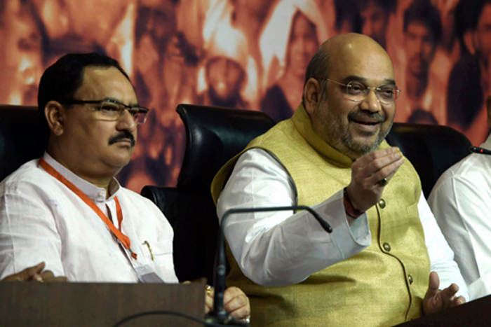JP Nadda Appointed As BJP's Working President
