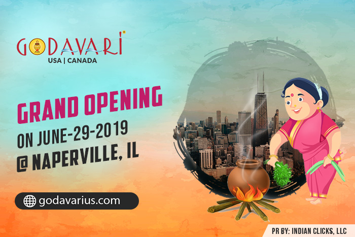 Godavari is Flowing to Naperville, IL this Weekend !!