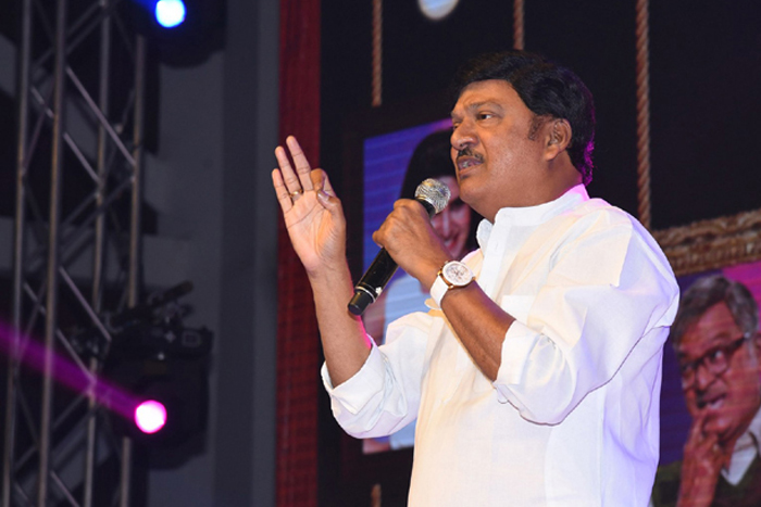 Rajendra Prasad Gives Clarity On Drinking Incident