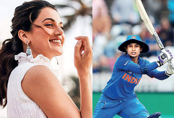 Taapsee To Play Cricketer Mithali Raj