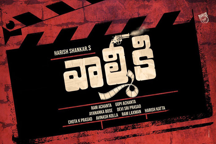 Valmiki Name For A Fighting Movie? Complaint Filed