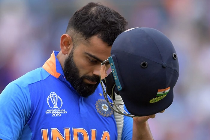 45 minutes of bad cricket and we're out of WC - Kohli