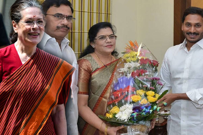 'How r you, In Which party are you in?' - Sonia to Kruparani