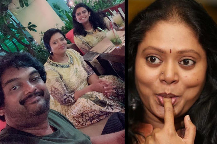 Puri Jagan Flaunting His Family Side Now