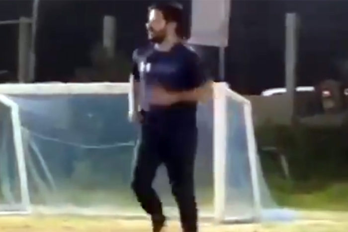 Revanth Reddy's Football Video A Hit With Fans