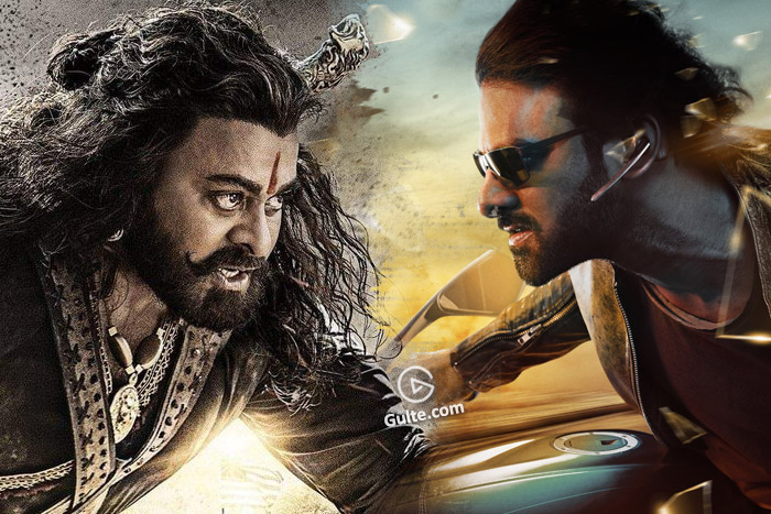 700 Cr #Saaho #SyeRaa: Game Starts In A Day!