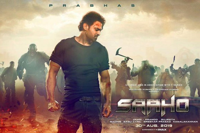 Saaho Collects Close To $2 Millions, But Not Enough!