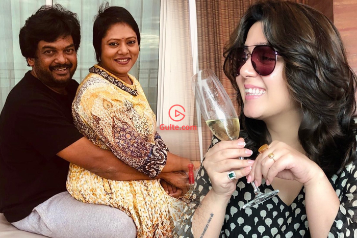 Charmme Wishes Puri Jagannath and his wife