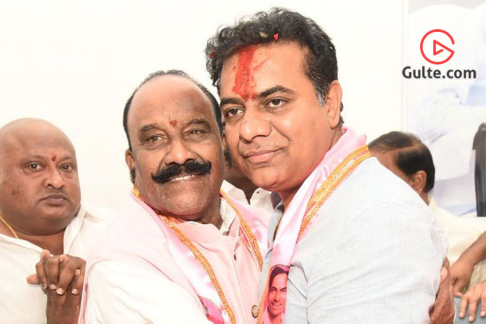 Naini Expecting KCR's Call, Got From KTR
