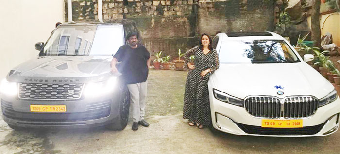 Pic Talk: Puri's New Range Rover, Charmme's New BMW