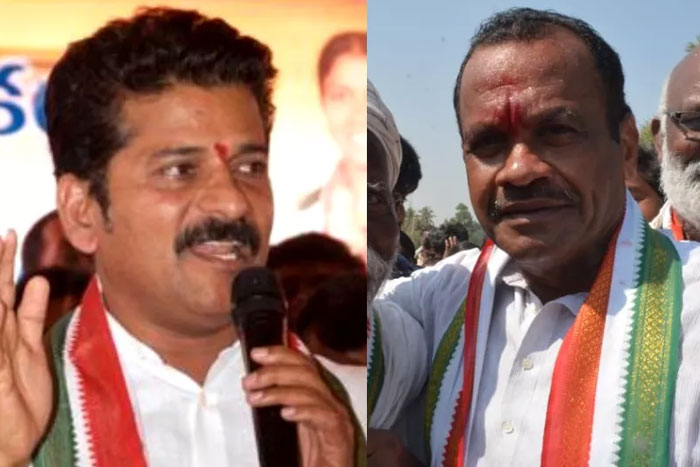 No need of your suggestions: Komatireddy to Revanth