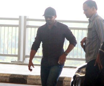 Kalyan Ram Spotted at Hyderabad Airport