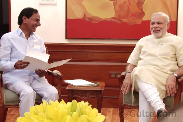 22 Issues: KCR Gives Long Wish List To Modi