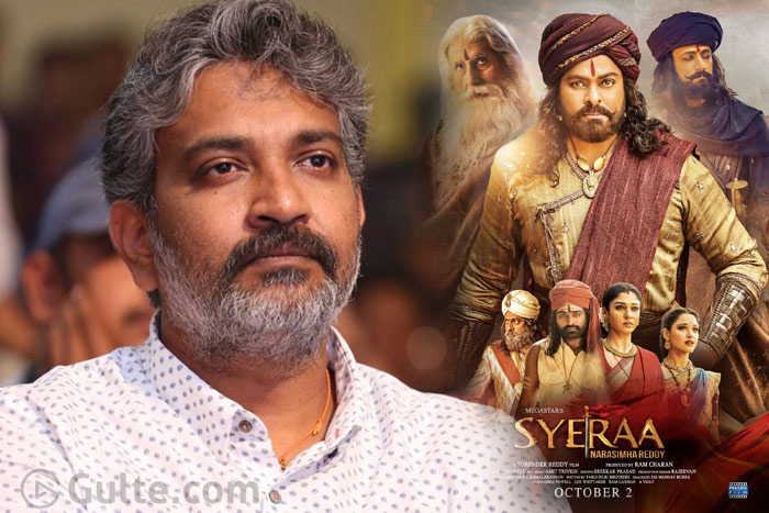 Is Sye Raa Result Worrying Rajamouli A Bit?