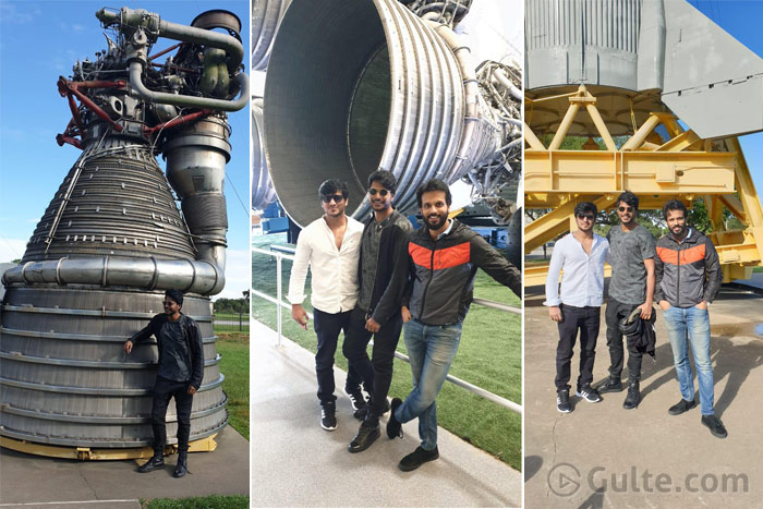 Pic Talk: Telugu Heroes at NASA