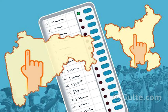 Maharashtra and Haryana polling underway