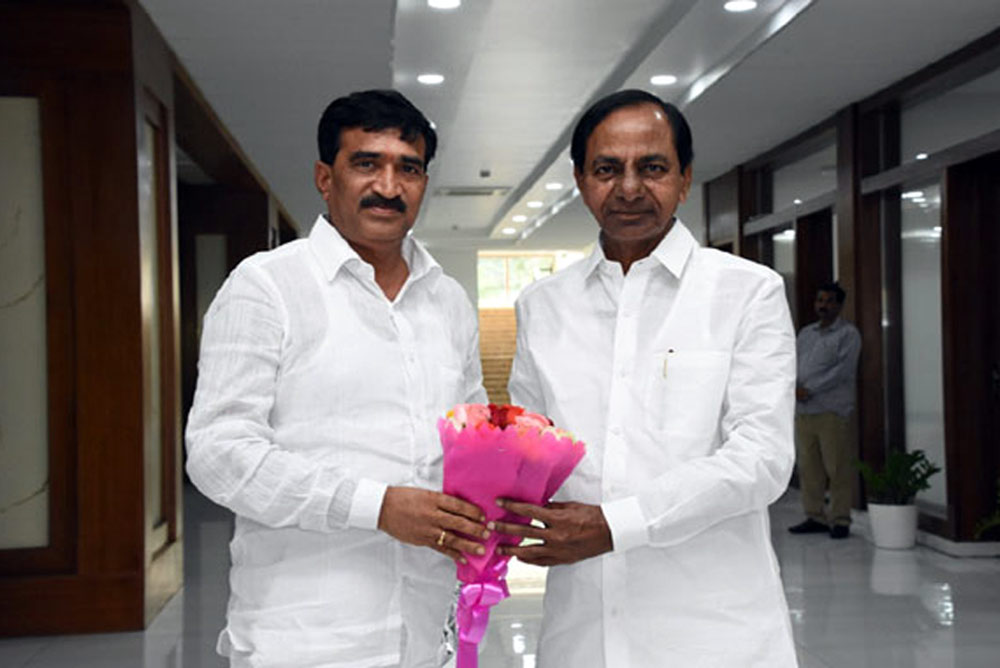 KCR Gives Nominated Post To His Opponent