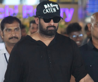 Prabhas back to Hyderabad from London