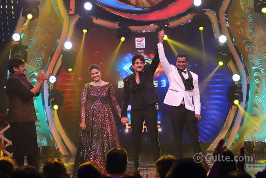 #BiggBoss3: Rahul Sipligunj Is Winner