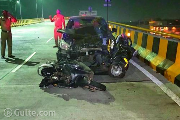 Drunk techie's horrible accident on Biodiversity flyover