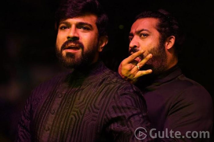 #RRR: Only One Song For NTR & Charan