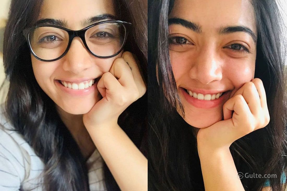 Rashmika Mandanna hardly wears makeup and still looks fabulous