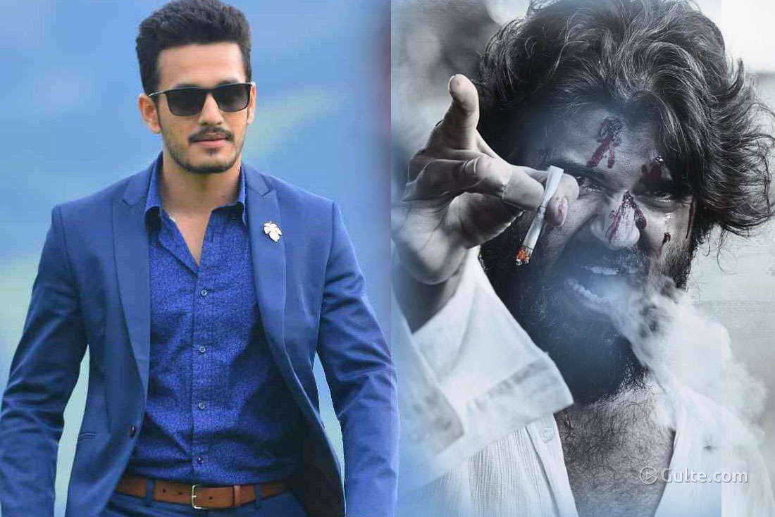 Akhil's Next Worried With Vijay's World Famous Lover?
