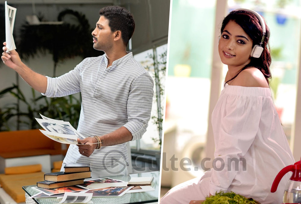 Allu Arjun And Rashmika's Married Romance Is Highlight