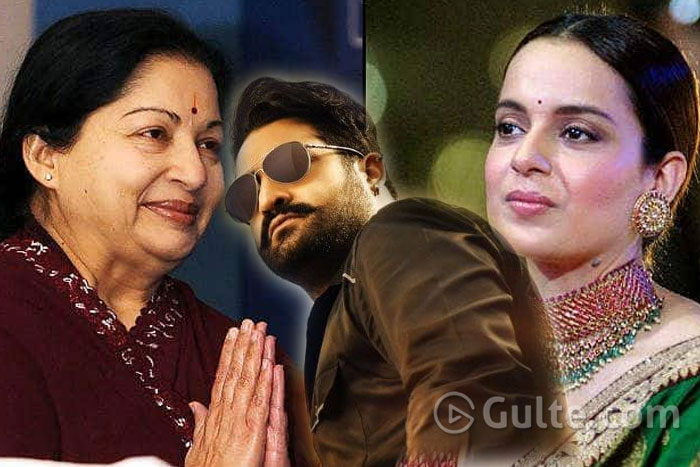 Will Jr NTR Agree For 'Thalaivi'?