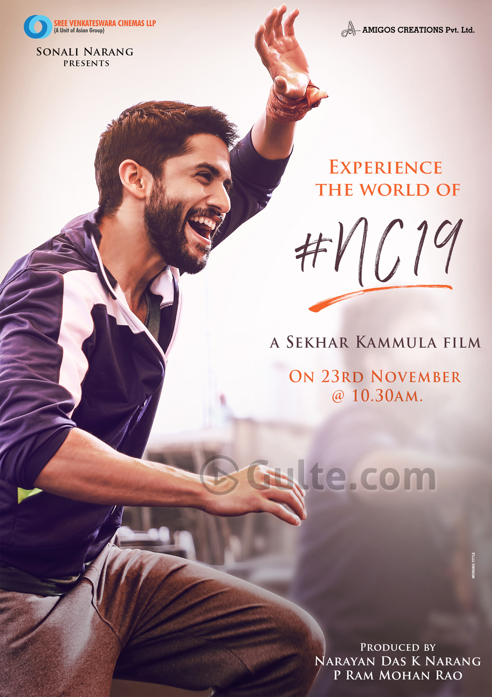 NC19 First Look: Chay Looks Happy And Excited