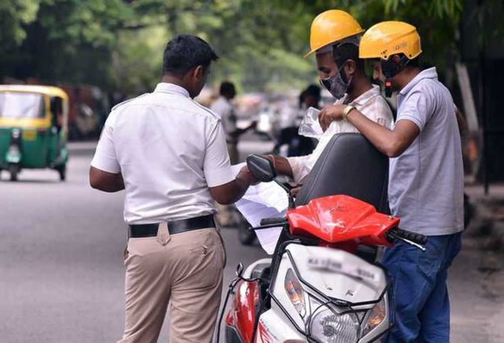 Hyderabad Traffic Police Collects Rs 100 Crores In Fines
