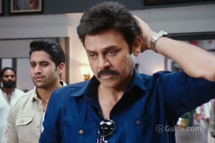 Venky Mama's Special Teaser For Alludu Chaitu