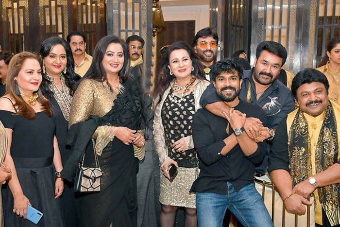 Pic: Mega Powerstar in 80's reunion