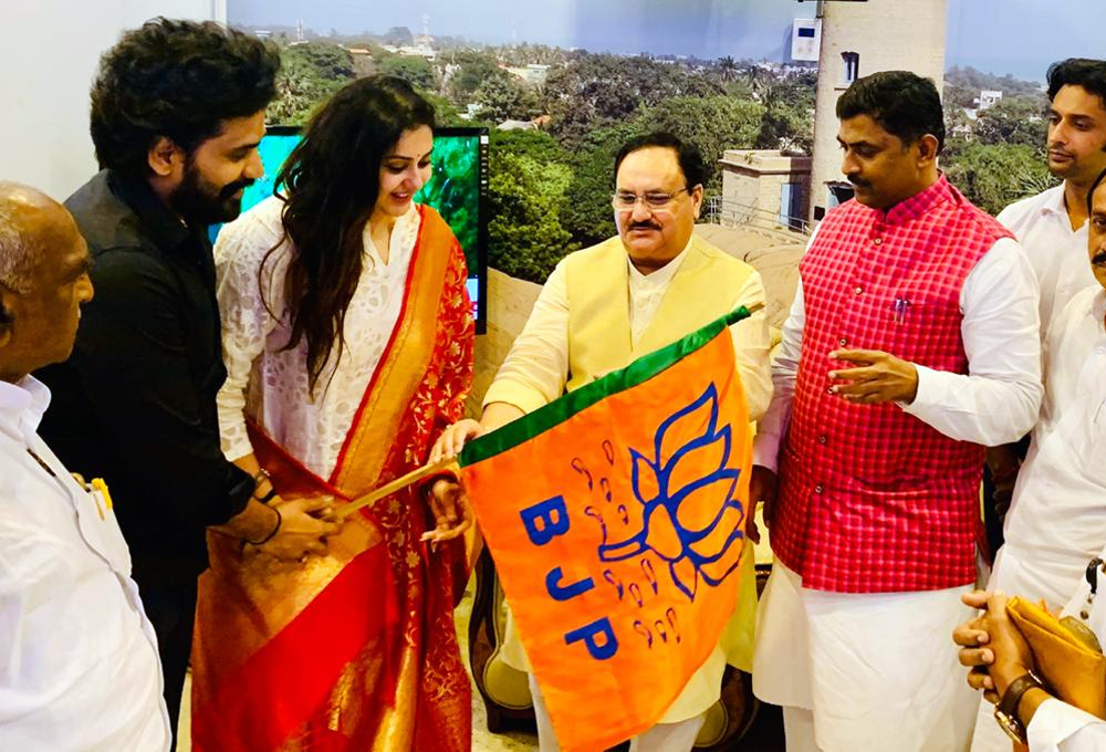 Famous South Actress Joins BJP